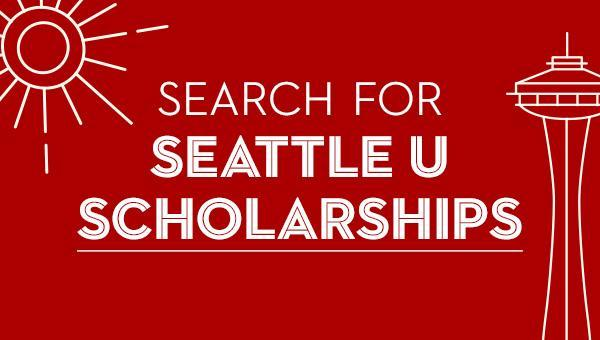 Search for Seattle U Scholarships button